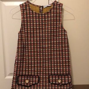 Tweed Zara Red Dress